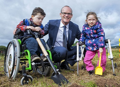 Official Turning of the Sod Ceremony for new Children's Centre in Cork