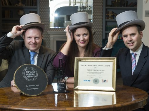 HAT TRICK OF AWARDS FOR THE MONTENOTTE HOTEL